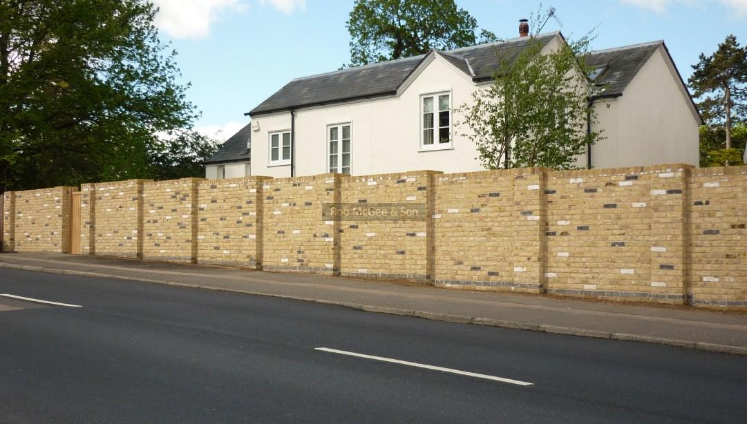 New Brick Wall Tunbridge Wells