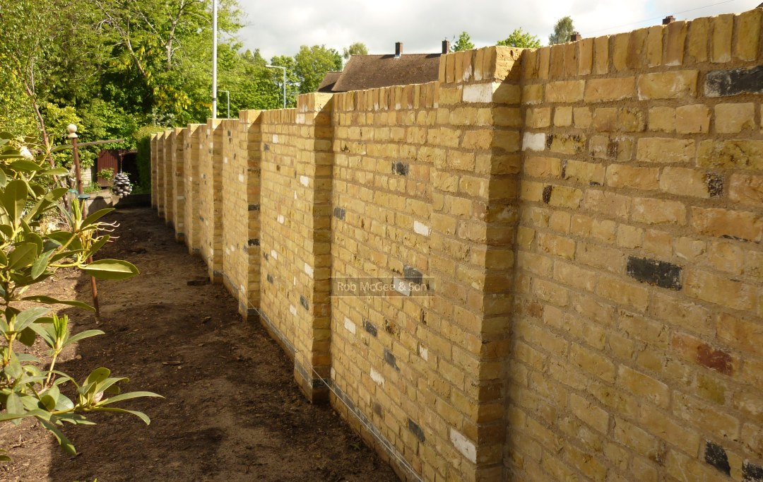 Garden Wall Builders In Kent Rob Mcgee Son