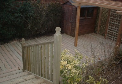 Quality landscape gardening service in the South East