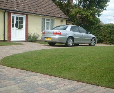 Quality lawn re-turfing service from Rob McGee & Son